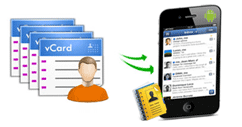 vCard Import Export Software for Blackberry | vCard Contacts